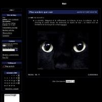 Skin noir pour Vefblog